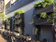 Vertical, ediable garden with FirmusPERGOLA